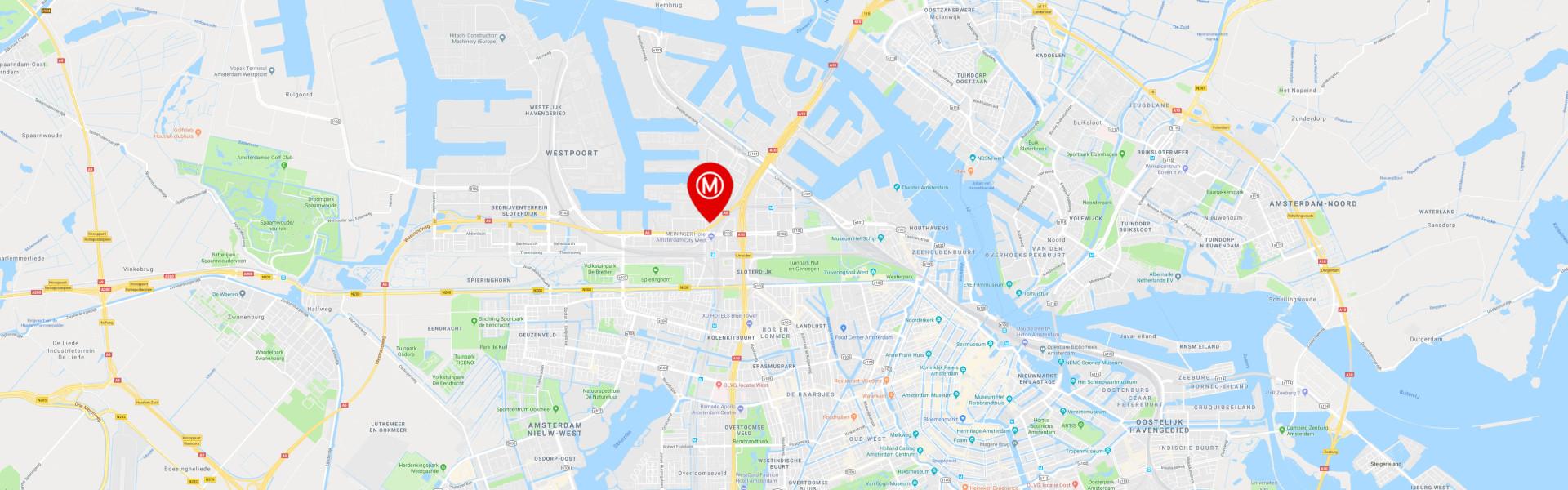 Millennium Tower Amsterdam, geleden aan de Radarweg 29 te Amsterdam Sloterdijk